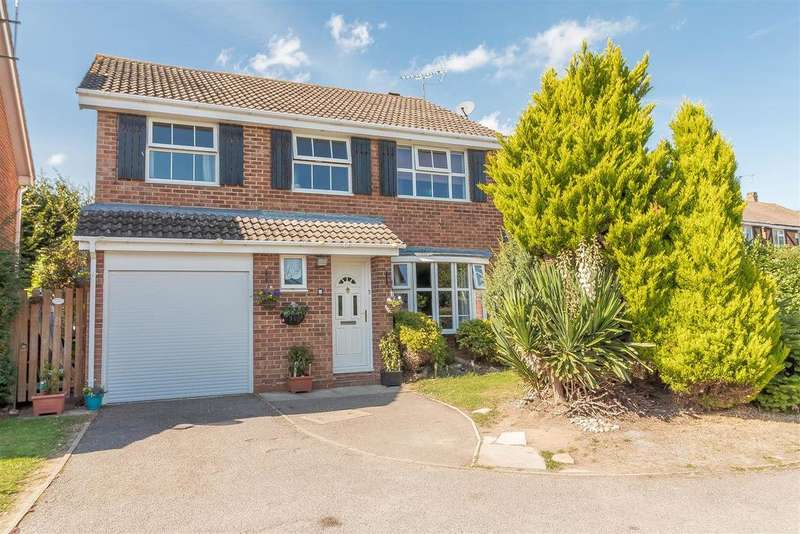 4 Bedrooms Detached House for sale in Wheelton Close, Earley, Reading