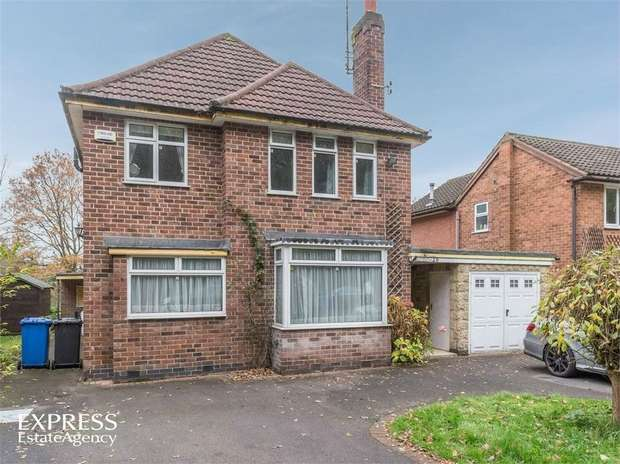 4 Bedrooms Detached House for sale in Main Avenue, Allestree, Derby