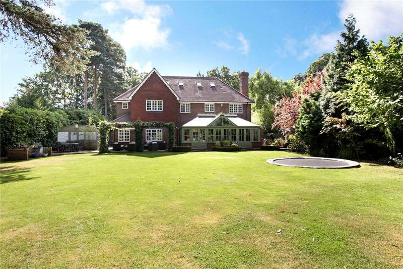 7 Bedrooms Detached House for sale in Old Woking Road, Pyrford, Woking, Surrey, GU22
