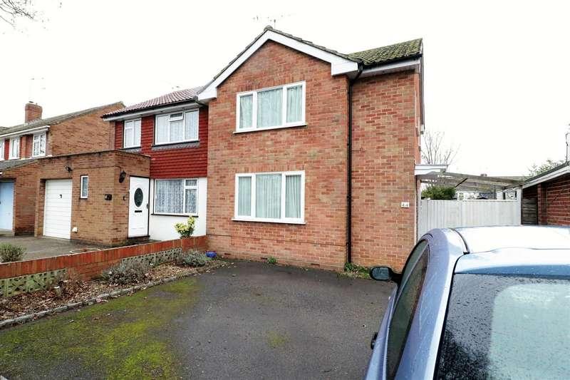 3 Bedrooms Semi Detached House for sale in Fullbrook Crescent, Tilehurst, Reading