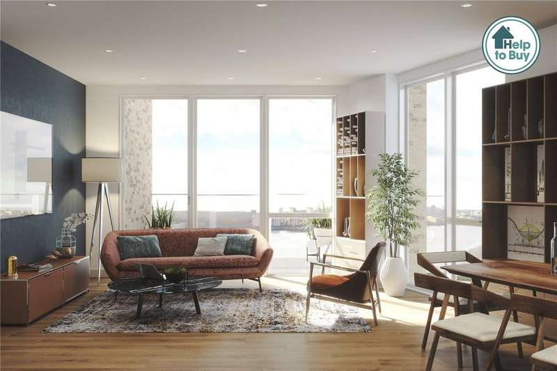 1 Bedroom Flat for sale in Royal Albert Wharf, Docklands, London, E16