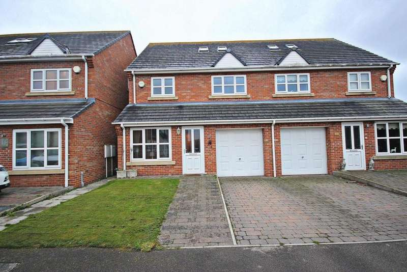 4 Bedrooms Semi Detached House for sale in Melbeck Court, Great Lumley, Chester Le Street