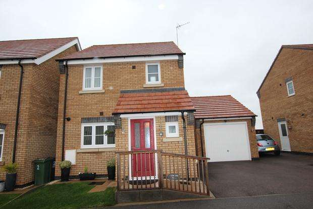3 Bedrooms Detached House for sale in Roy Brown Drive, Sileby, Loughborough, LE12