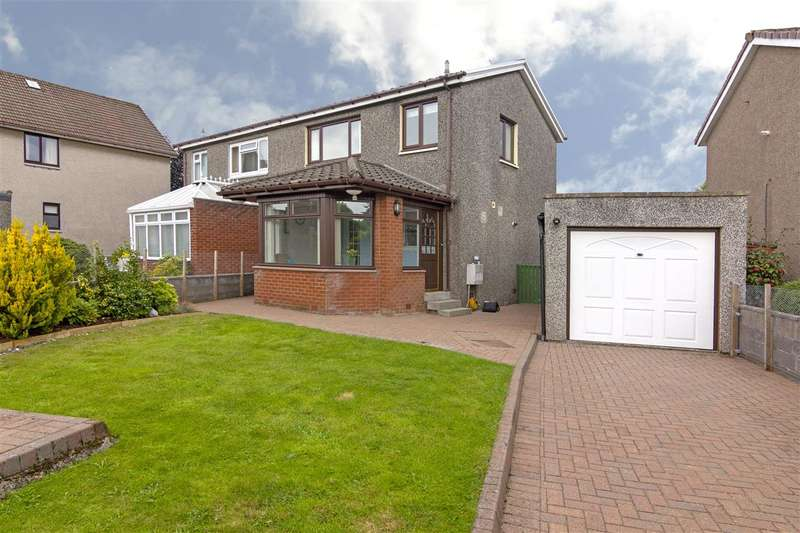 3 Bedrooms Semi Detached House for sale in Anne Drive, Stenhousemuir