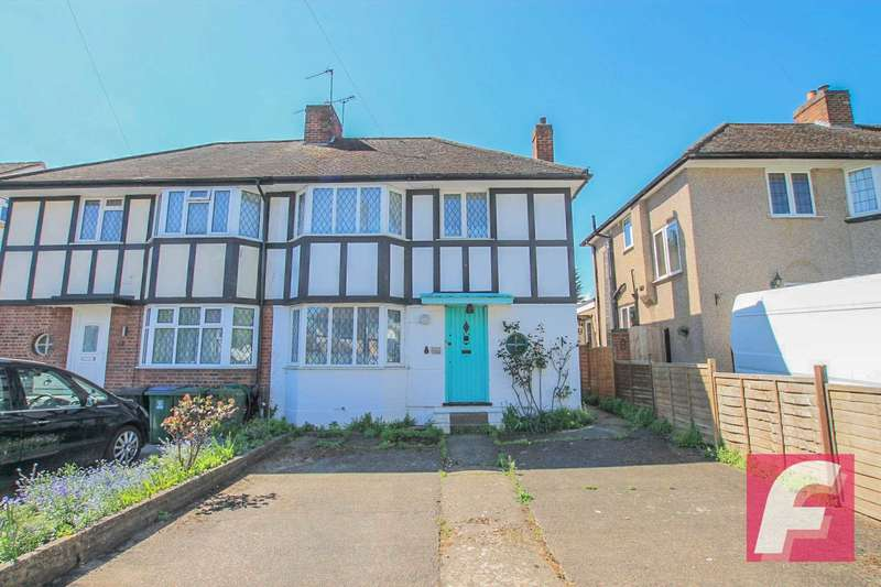 3 Bedrooms Semi Detached House for sale in Tavistock Road, Watford