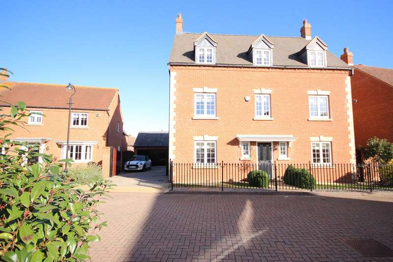 5 Bedrooms Detached House for sale in Oakley Rise, Wilstead, Bedfordshire, MK45