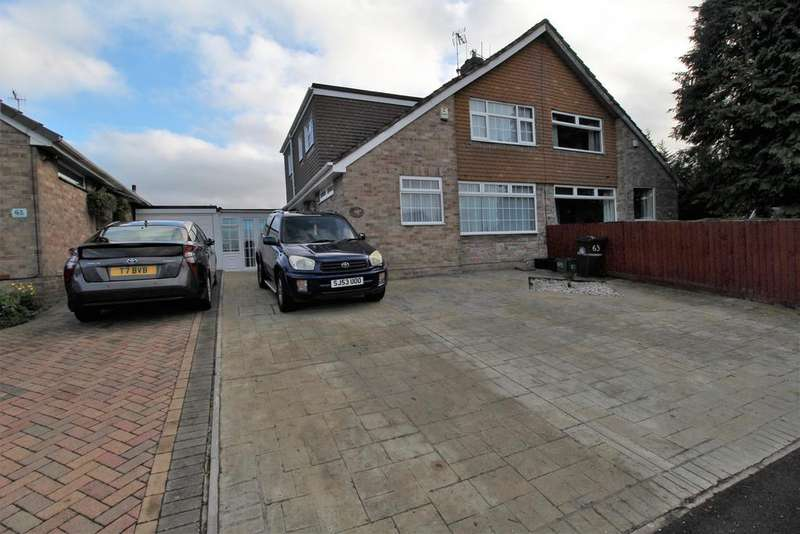 3 Bedrooms Semi Detached House for sale in Ravenhead Drive, Whitchurch, Bristol, BS14 9AU