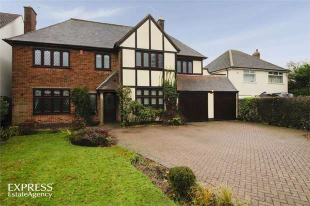 5 Bedrooms Detached House for sale in Sapcote Road, Burbage, Hinckley, Leicestershire