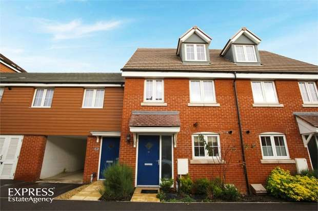 3 Bedrooms Town House for sale in Copia Crescent, Leighton Buzzard, Bedfordshire