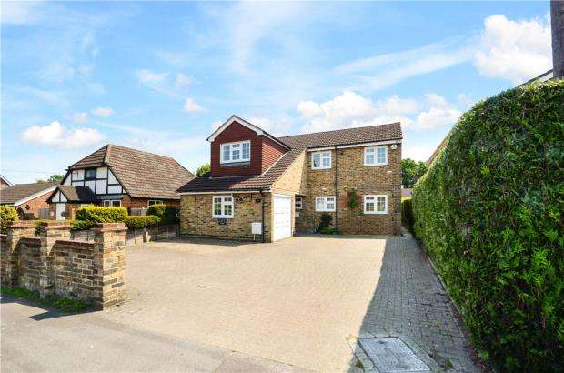 5 Bedrooms Detached House for sale in Sandy Lane, Farnborough, Hampshire