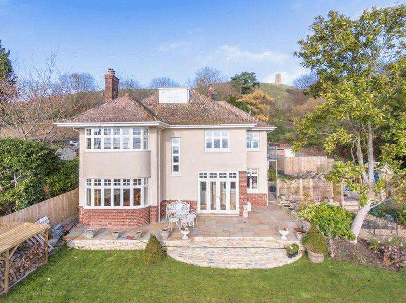 5 Bedrooms Detached House for sale in Lower Slopes of Glastonbury Tor
