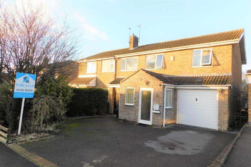 4 Bedrooms Semi Detached House for sale in Kirkhill Close, Coalville