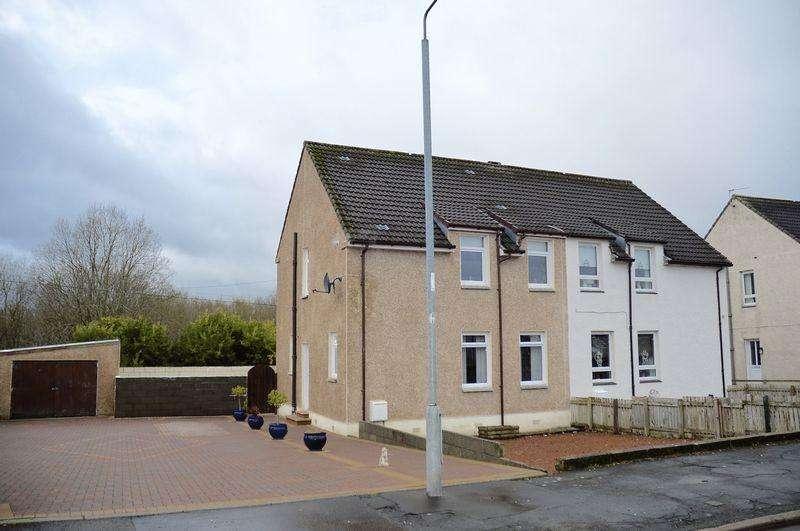 3 Bedrooms Semi-detached Villa House for sale in Back Rogerton Crescent, Auchinleck