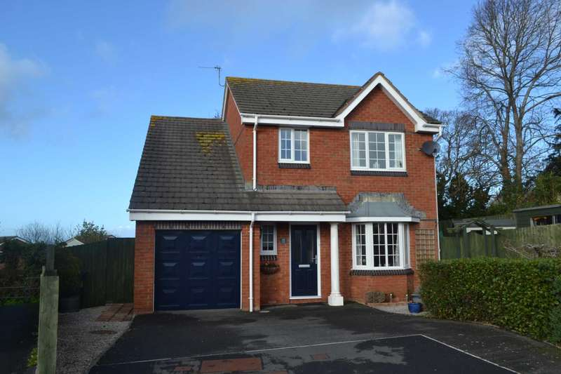 4 Bedrooms Detached House for sale in Ivydale, Exmouth