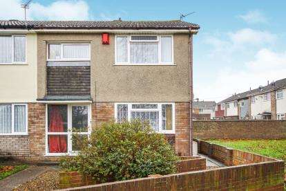 3 Bedrooms End Of Terrace House for sale in Hardwicke, Yate, Bristol, South Gloucestrshire
