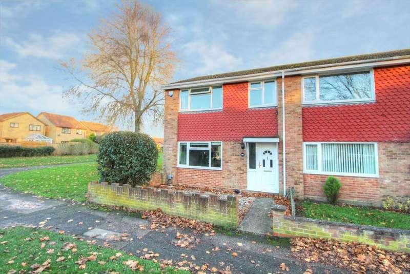3 Bedrooms End Of Terrace House for sale in Kenilworth Walk, Putnoe, MK41