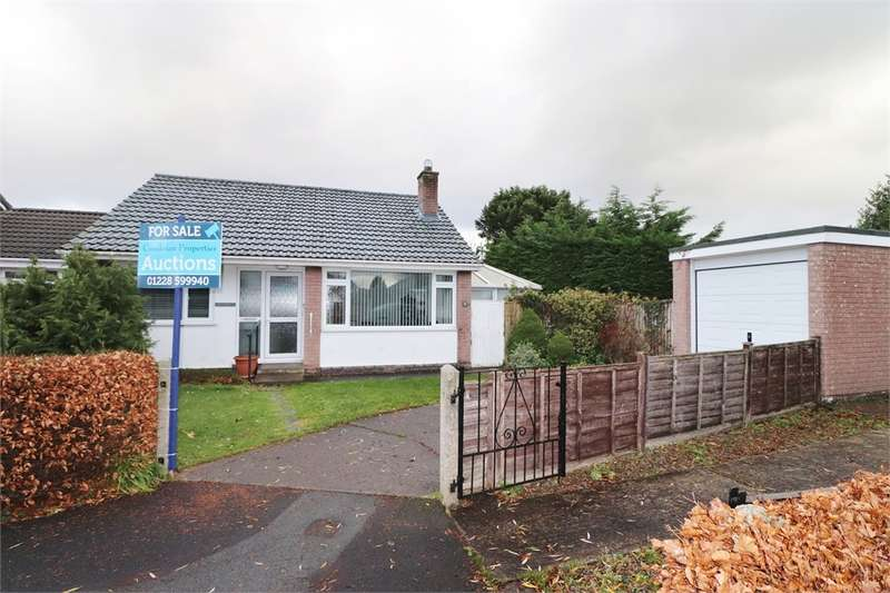 2 Bedrooms Detached Bungalow for sale in CA5 7NS Caldew Drive, Dalston, Carlisle, Cumbria