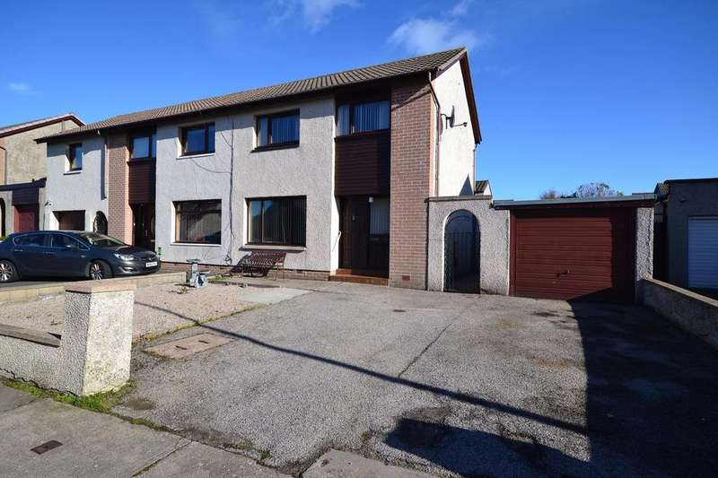 2 Bedrooms Semi Detached House for sale in 23 Brodick Road, Fraserburgh AB43 9TT