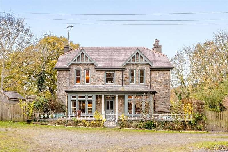 6 Bedrooms Detached House for sale in Vaynol Park, Bangor, Gwynedd