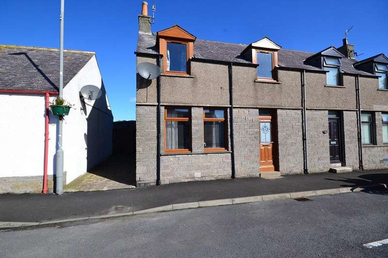 3 Bedrooms Terraced House for sale in 15 The Square, Rosehearty, Fraserburgh AB43 7JB
