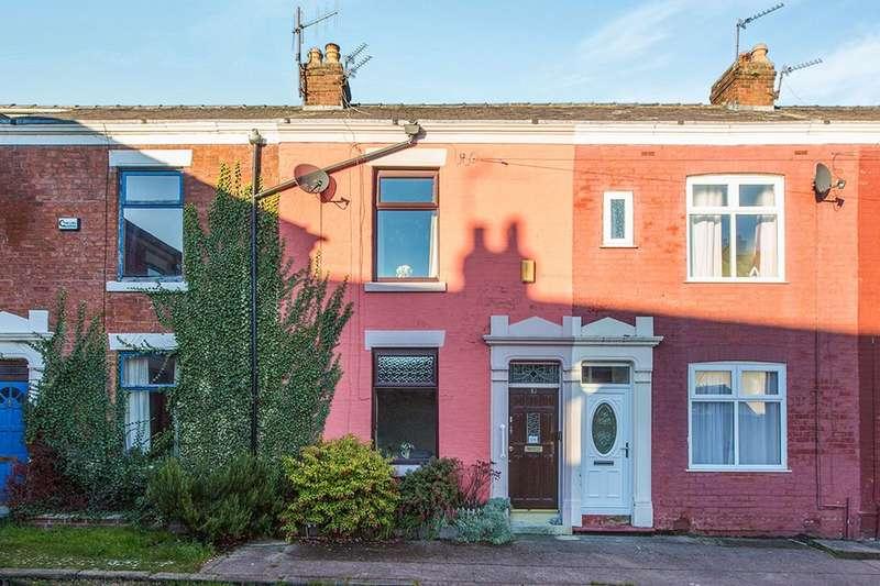 2 Bedrooms Terraced House for sale in Zetland Street, Preston, PR1