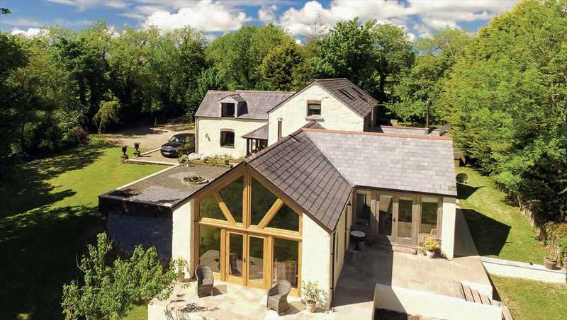 4 Bedrooms Detached House for sale in Cottleys Barn, Wiston, Nr. Haverfordwest
