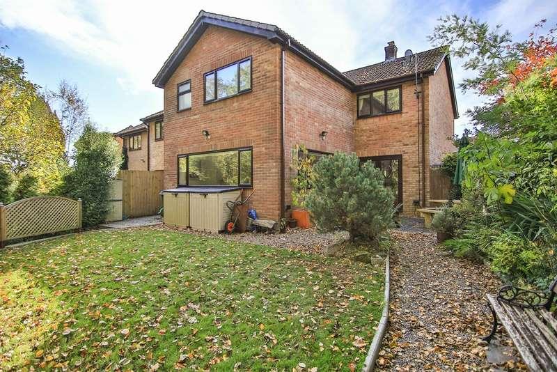 5 Bedrooms Detached House for sale in Heol Y Foel, Llantwit Fardre, PONTYPRIDD