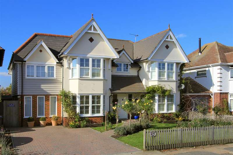 5 Bedrooms Detached House for sale in St. Annes Road, Tankerton, Whitstable