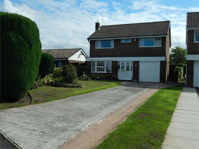 4 Bedrooms Detached House for sale in Ravens Grove, Reedley, Lancashire