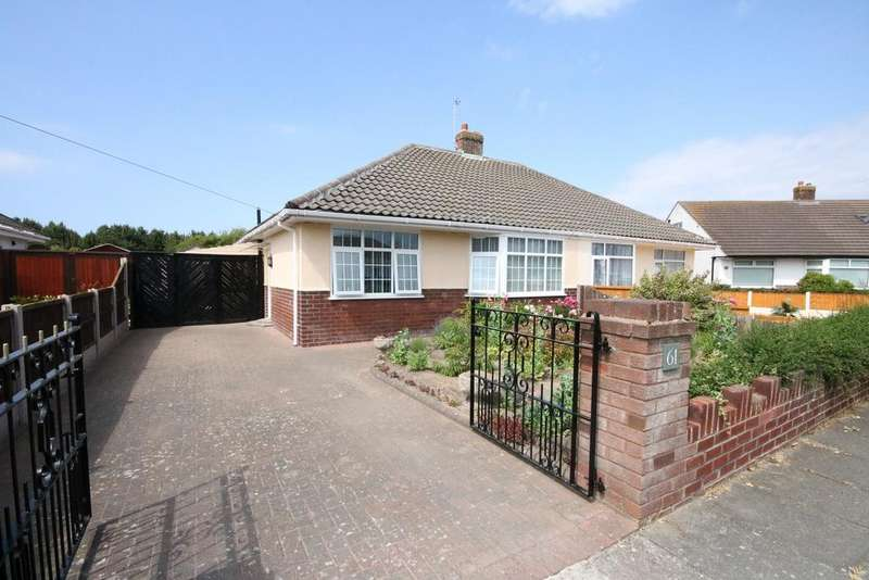 2 Bedrooms Semi Detached Bungalow for sale in Mark Road, Hightown, Liverpool L38