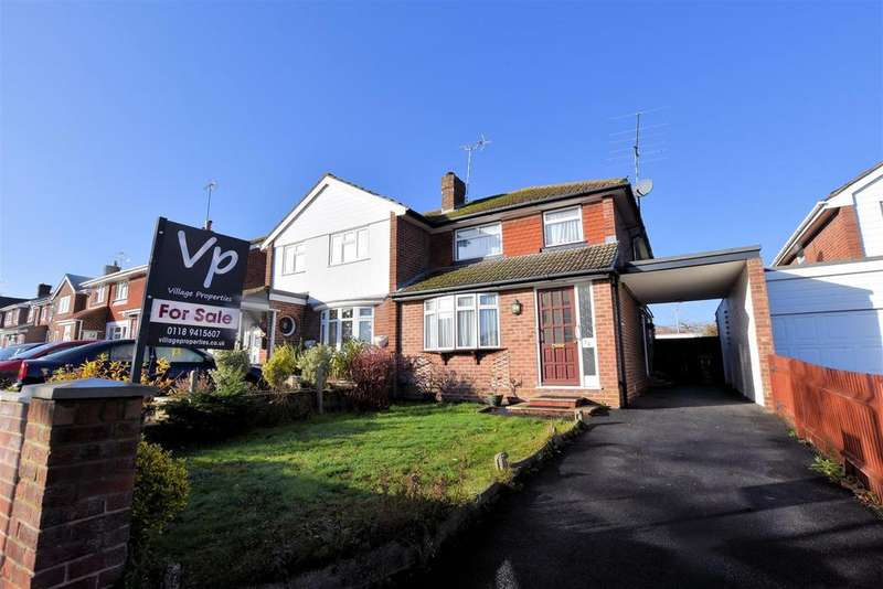 3 Bedrooms Semi Detached House for sale in Skilton Road, Tilehurst, Reading