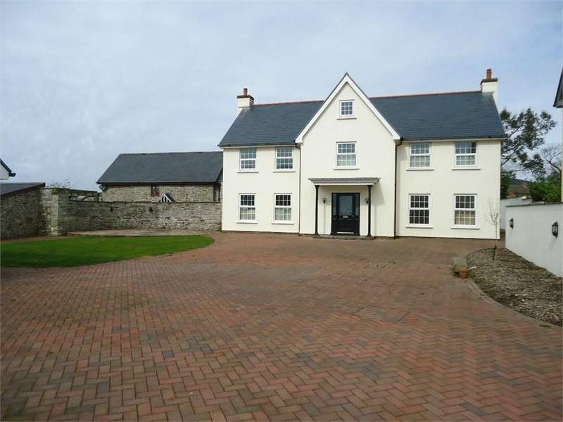 4 Bedrooms Detached House for sale in Eglwys Nunnydd, MARGAM, SA13