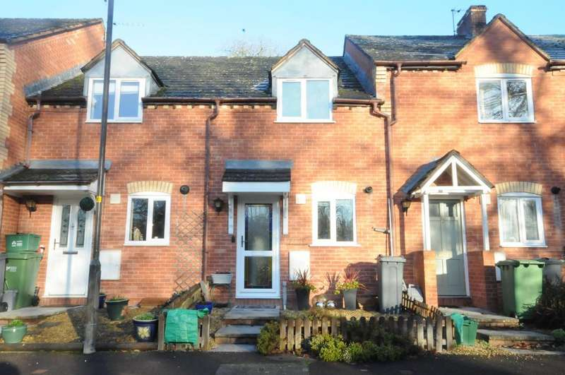2 Bedrooms Terraced House for sale in Strachans Close, Stroud, GL5 3EB