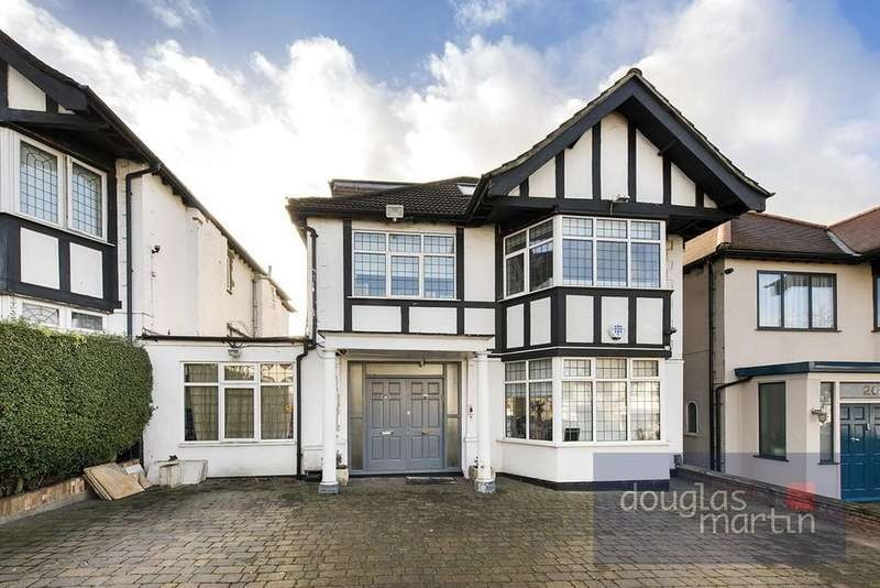 4 Bedrooms Detached House for sale in Faber Gardens, London NW4
