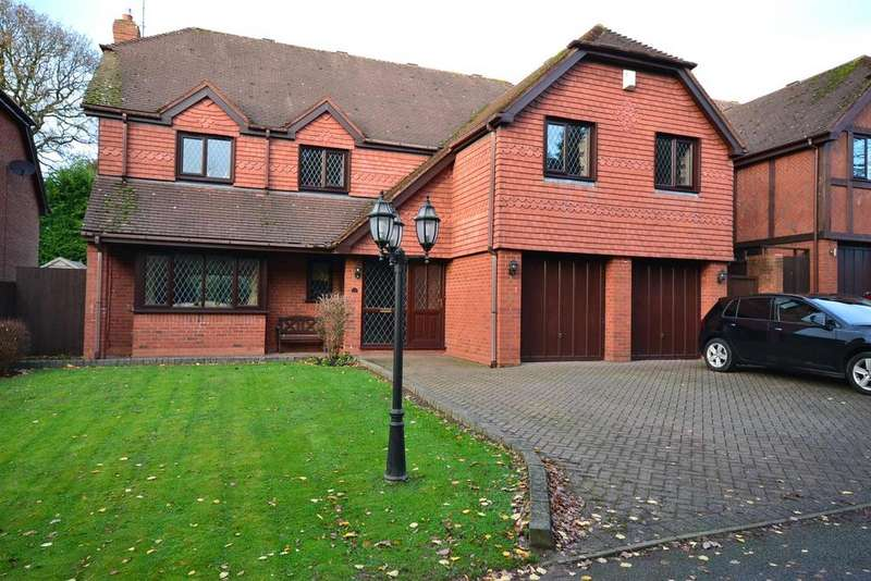 5 Bedrooms Detached House for sale in Icknield Street, Church Hill North, Redditch