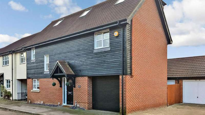 4 Bedrooms Link Detached House for sale in Deer Park Way, Waltham Abbey