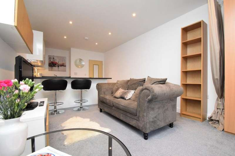 Studio Flat for sale in West House, Plough Road, Yateley