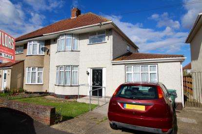 3 Bedrooms Semi Detached House for sale in Westward Road, Highridge, Bristol