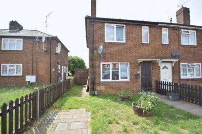 2 Bedrooms End Of Terrace House for sale in Solway Road North, Luton, Bedfordshire