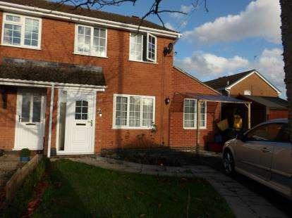 3 Bedrooms Semi Detached House for sale in Floret Close, Ravenstone, Coalville