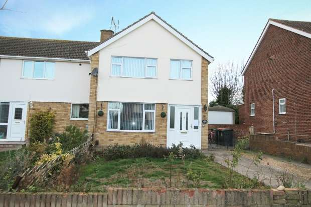 3 Bedrooms Semi Detached House for sale in Fulmar Road, Bedford, Bedfordshire, MK41 7JZ