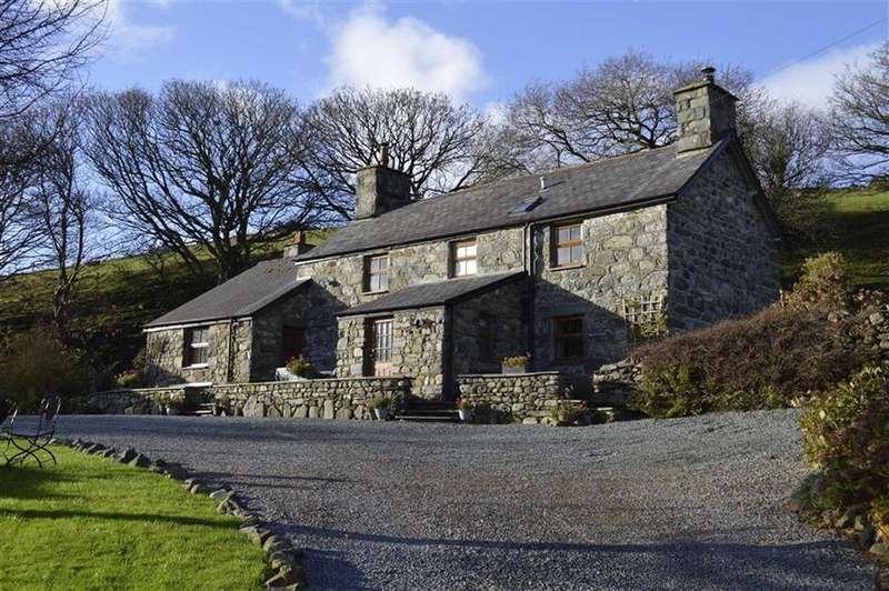3 Bedrooms Unique Property for sale in Bron Y Foel And Y Hen Beudy, Rhoslefain, Tywyn, Gwynedd, LL36