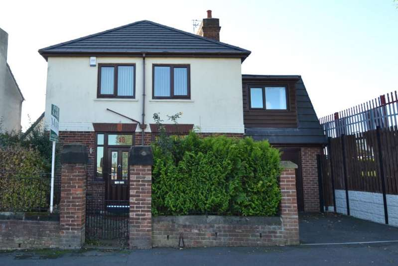 4 Bedrooms Detached House for sale in North Cliff Road, Conisbrough, Doncaster
