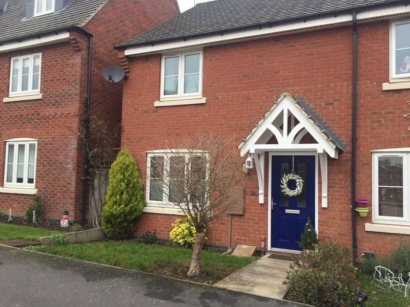 2 Bedrooms Semi Detached House for sale in Hubbard Road, Burton-on-the-wolds