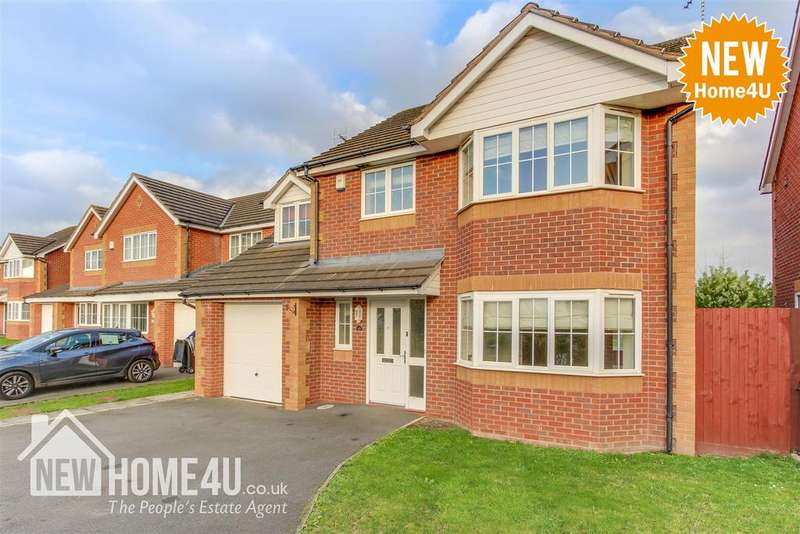 4 Bedrooms Detached House for sale in Ewloe Heath, Buckley