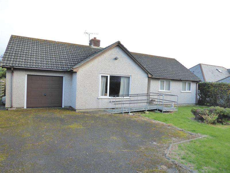 2 Bedrooms Detached Bungalow for sale in Fosters Lane, Tintagel