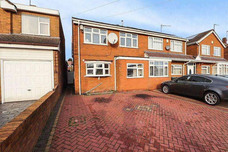 3 Bedrooms Semi Detached House for sale in Dudley Port, Tipton