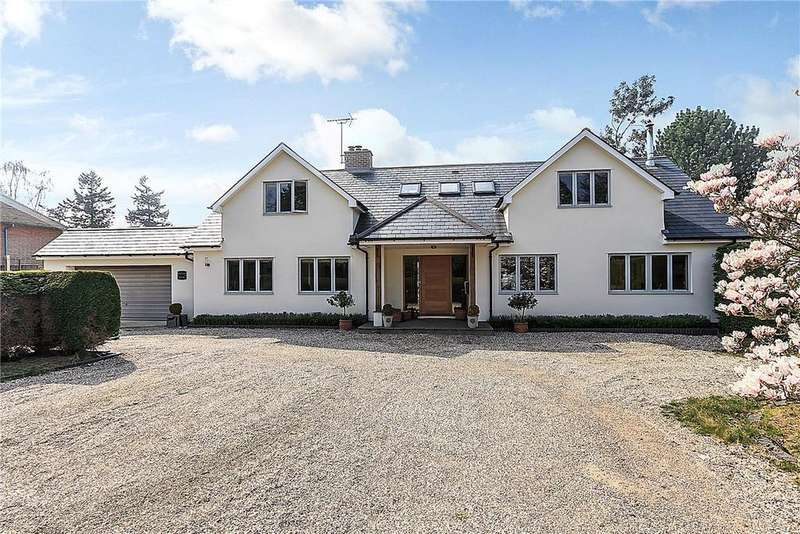 4 Bedrooms Detached House for sale in Pond Lane, Hermitage, Thatcham, Berkshire, RG18