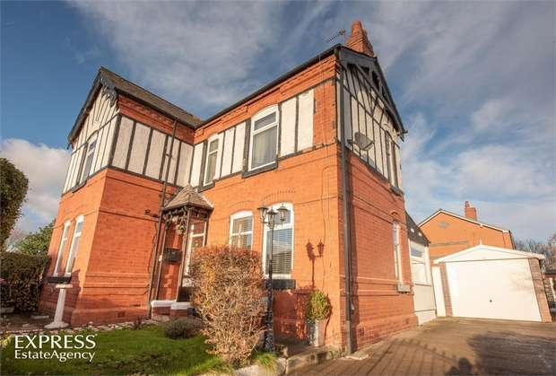 3 Bedrooms Detached House for sale in Bolton Road, Pendlebury, Swinton, Manchester