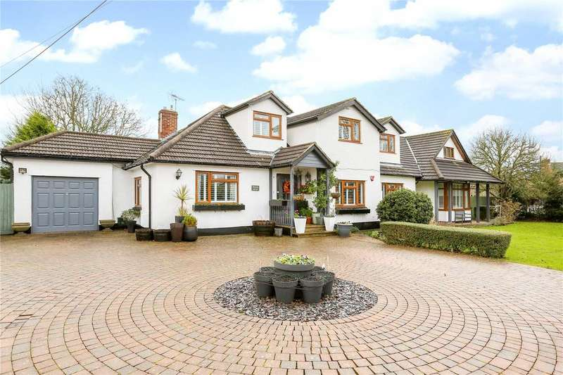 5 Bedrooms Detached House for sale in Coxs Green, Wrington, Bristol, BS40